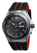 New Technomarine TM-115184 Cruise Locker Swiss Day Date  Black Dial Watch