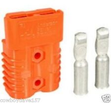 Anderson SB350 Connector Kit Orange 2/0 Awg 6400G1 Authentic Anderson Power