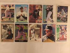 Lot of 10 FRANK THOMAS Assorted Baseball Cards - Lot #8