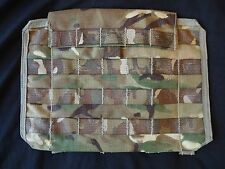 British Army Osprey MK4 / 4A Side Plate Pocket (NO ARMOUR) - MTP - Used Grade 2