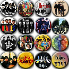The Beatles Badges Buttons Pins (1.5 inch - 38 mm) - 16 pieces