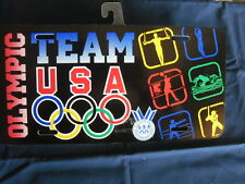 Olympic Vanity plate - TEAM USA with Olympic Rings