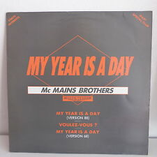 "MAXI 12"" MC MAINS BROTHERS / IRRESISTIBLES My year is a day / voulez vous FDP022"