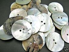 10pcs Japan Large 48L 30mm Natural Real Shell Button AGOYA MOP MOTHER OF PEARL