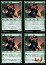 MTG SHADOWS OVER INNISTRAD CHINESE DUSKWATCH RECRUITER  X4 MINT CARD