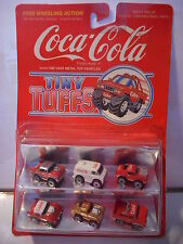 tiny tuffs  coca cola  mib ( micro machine) corvette mustang chevy