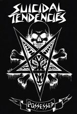 Suicidal Tendencies Possessed Skulll Pentagram Punk Camouflage Army Shirt Jacket