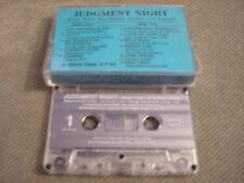 RARE PROMO Judgment Night CASSETTE TAPE soundtrack SLAYER Pearl Jam SONIC YOUTH