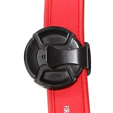 Universal Camera Lens Cap Clip Clamp Holder Strap Keeper  S-clip Durable