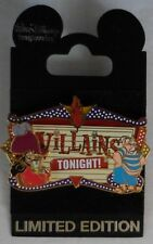 Disney Pin WDI Captain Hook & Mr. Smee Villains Tonight Pin LE300