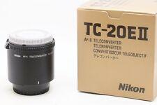 * Mint * Nikon Nikkor AF-S TC-20E 2X II Teleconverter for Nikon AF-S AF-I Lens