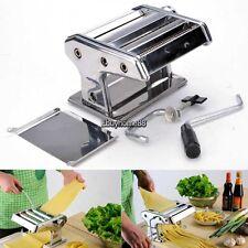 2 Cutting dies Pasta Maker Noodle Machine Spaghetti Clamp Fettuccine Roller