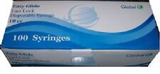 EASY GLIDE 10CC SYRINGES ONLY WITH LUER LOCK 10ML 100/BOX STERILE -Sealed Pack