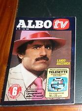 ALBO TV 16/1978 - Cover: L. Buzzanca/L. Mancinelli + inserto Telesette OTTIMO