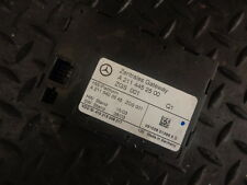 2004 MERCEDES E CLASS E220 CDI CENTRAL GATEWAY LOCKING MODULE A2114452500