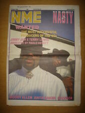 NME 1986 AUG 2 NASTY JIMMY JAM TERRY LEWIS WOODY ALLEN