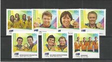 AUSTRALIA 2012 GOLD MEDAL WINNERS LONDON SG,3820-3826 U/MM N/H LOT 2973A