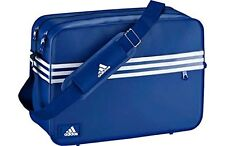 ADIDAS 3 Stripe Blu Smaltato Messenger Bag solo £ 39.99... Veloce Dispatch