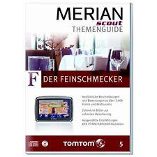 Merian scout gourmet pour tous TomTom avec plus de 2000 hôtels et restaurants