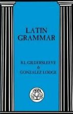 Latin Grammar (Advanced Language)-ExLibrary