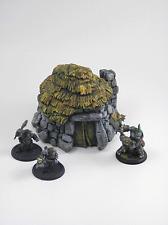 NEW!! Painted Rock Hut 01- Terrain for Warhammer/D&D