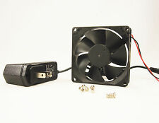 80mm 25mm Case Fan Kit 110V 115V 120V AC 64CFM Ball Brg PC Cooling 8025 1306*