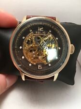 Relic by Fossil ZR77241 Men's Automatic Stainless Brown Skeleton Watch-H72