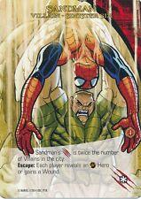 SANDMAN 2014 Upper Deck Marvel Legendary SP SINISTER SIX