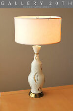 MID CENTURY MODERN FREDERIC WEINBERG FAIP TABLE LAMP! Thurston Atomic Vtg 1950's