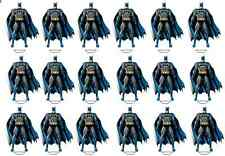 18 x Large batman stand up cupcake Rice toppers birthday Party cake Decorations