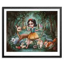 1xRun Snow White In The Black Forest By Mab Graves PRINT ED 50 Glow In The Dark