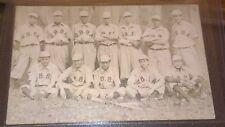 Original 1900's Baseball Postcard* mint* S B B A on uniforms