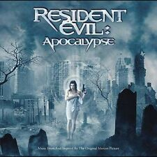 RESIDENT EVIL: APOCALYPSE - SOUNDTRACK CD NEW