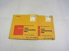 Used KODAK CC40M Color Compensating Filter Magenta USA (Sold Seperately) 6413001
