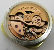 Lady Omega 672 24 jewels 5 adj. Constellation watch movement & dial for parts