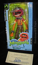 """MUPPETS ANIMAL MEGA MUPPET 12"""" Autographed by Palisades President w/ Certificate"""