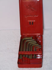 Snap On 11 Piece Metric Hex Key Set L Shaped 2-12MM AWM110DHK Free Shipping