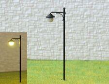 S1032 - 10 Stück Straßenlampen mit LED 6,5cm Set Parkleuchten nostalgisch 12-19V