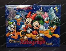DISNEY Parks AUTOGRAPH Book OFFICIAL DISNEYLAND MICKEY MOUSE & Friends NEW