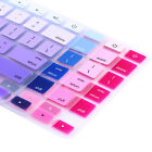 "Rainbow Silicone Keyboard Skin Cover Film For Apple Macbook Pro 17"" Retina Air"