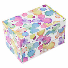 Raindrop Splash 2 Drawer Jewellery Box Childrens Organiser Case Gifts For Girls
