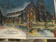 Christmas Carols John Hancock Ins Co Snow Covered Church Graphics