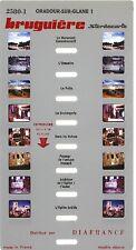 Stereocarte Bruguière n°2580.1 - Oradour Sur Glane (1) - 8 Vues - Diafrance