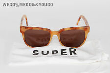 RetroSuperFuture Ciccio Light Havana SunGlasses Free Shipping!