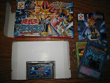 YU-GI-OH! GODS CARDS SET MINT + DAMAGED BOX GBA WORLWIDE EDITION GB1-001 002 003