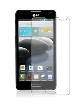 2 x Clear LCD Screen Protector Film Foil Saver For LG Optimus F6