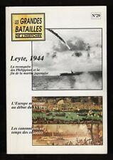 █ LES GRANDES BATAILLES DE L'HISTOIRE n°29 Leyte 1944 █