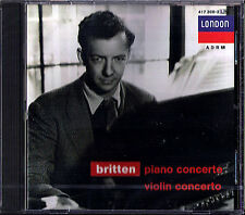 Sviatoslav RICHTER & Mark LUBOTSKY: BRITTEN Piano & Violin Concerto CD ECO NEU