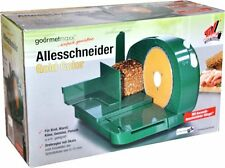 MULTI-USE SLICER GOLD COLOR of GOURMETMAXX GUILLOTINE GREEN CUTTER NEU