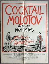 Affiche COCKTAIL MOLOTOV Elise Caron DIANE KURYS François Cluzet 60x80cm *